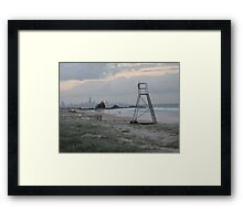 dusk illusions Framed Print