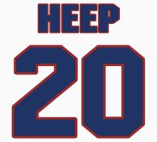 National baseball player Danny Heep jersey 20 by imsport