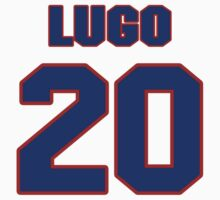 National baseball player Urbano Lugo jersey 20 by imsport