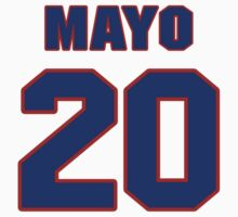 National baseball player Eddie Mayo jersey 20 by imsport