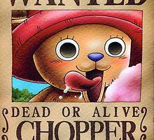 WANTED ! Chopper - One Piece by Laredj