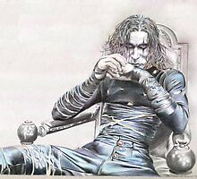Brandon Lee - The Crow by draven14
