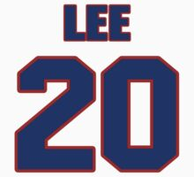 National baseball player C.C. Lee jersey 20 by imsport