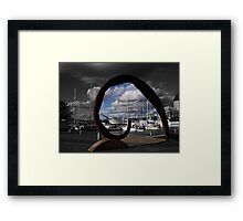 Gothenburg sculpture Framed Print