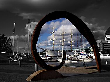Gothenburg sculpture by Ranald