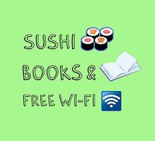 Sushi, books and free wi-fi - 02 by Susanna Olmi