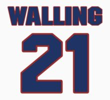 National baseball player Denny Walling jersey 21 by imsport