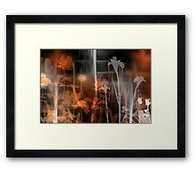 Flower Art Framed Print