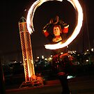 Fire Twirling by melbourne