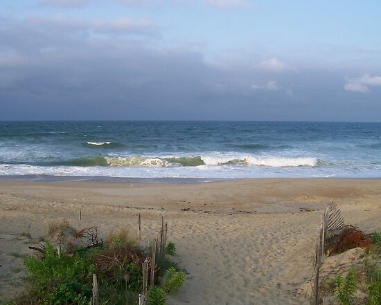 The Ocean in Outer Banks North Carolina by ericseyes