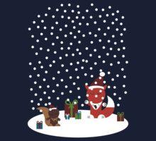 Fox & Squirrel Holidays by notDaisy