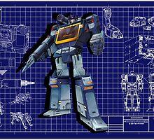 Masterpiece Soundwave Blueprint  by Draconis130