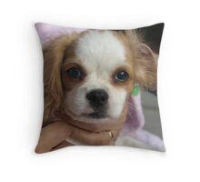 Just call me Trouble! Throw Pillow