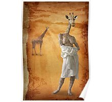 The woman who fell in love with giraffes Poster