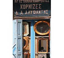 Mirror Shop  Photographic Print