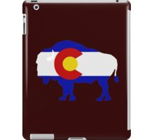 Colorado Buffalo iPad Case/Skin