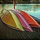 The Wooden Row Boats by thomr