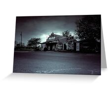 The Texas Chainsaw Massacre  - Cele General Store #10 Greeting Card