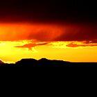 Navajo Sunset by Jenson Yazzie