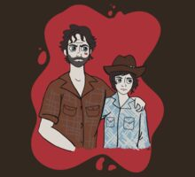 Disneyfied Rick and Carl Grimes by PartofyourworId
