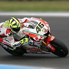 Valentino Rossi at MG in 2007 by Mirko Mujica