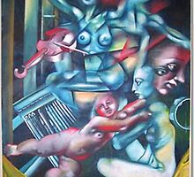 three muses by jjcaeli