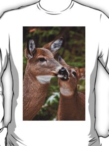 White Tailed Deer and Baby T-Shirt
