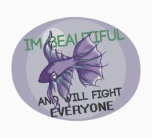 Beauty and the Butterfly Kick - Genderqueer Pride by naatomic