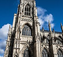 Looking Up at the York Minster #2 by Nicole Petegorsky