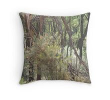 nature's abstracts Throw Pillow