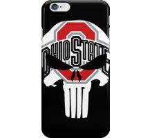 Ohio State Skull  iPhone Case/Skin