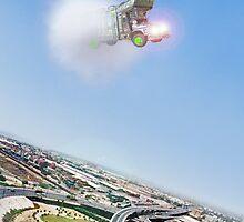 Pakistani Beford Starfighter Truck Sonic Boom by Kenny Irwin