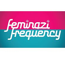Feminist Frequency Spoof Logo by mgtow