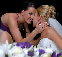 Sisters Special Moment by Bill and Sarah Wedding Photography