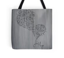 Half of My Heart Tote Bag
