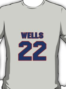 National baseball player Casper Wells jersey 22 T-Shirt