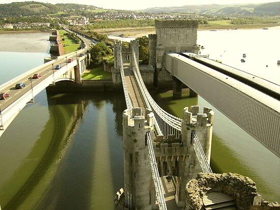 Conwy bridge by karenlynda