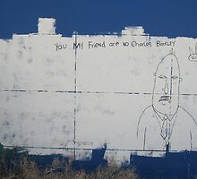 You MY friend are NO Charles Barkley-wall art by DAdeSimone