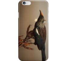 Tui on Flax iPhone Case/Skin