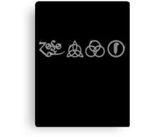 NEW DESIGN - Ancient Pagan Symbols (H) - Shine on You Crazy Diamond Canvas Print