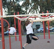 Kids at play 2 by AustinAnne