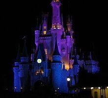 Disney - Cinderella's Castle by OnTheRoadAgain
