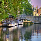Canal Boats by Suraj Mathew