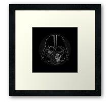 Skull Vader Framed Print
