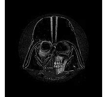 Skull Vader Photographic Print