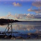 Reflections of Instow  by Charmiene Maxwell-batten