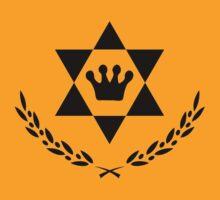 Ascending Hexagram Cyprus Leaf Logo by FreshThreadShop
