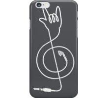 Rock Music Unplugged iPhone Case/Skin
