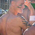 Beautiful Boy with Tats by Jeffrey Hamilton