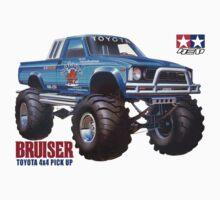 58048 Bruiser Toyota 4x4 Pickup by pandagfx